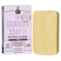 Grandpa Soap 230737 Witch-Hazel Bar Soap - 4.25 oz