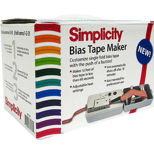 Simplicity Bias Tape Maker 881925