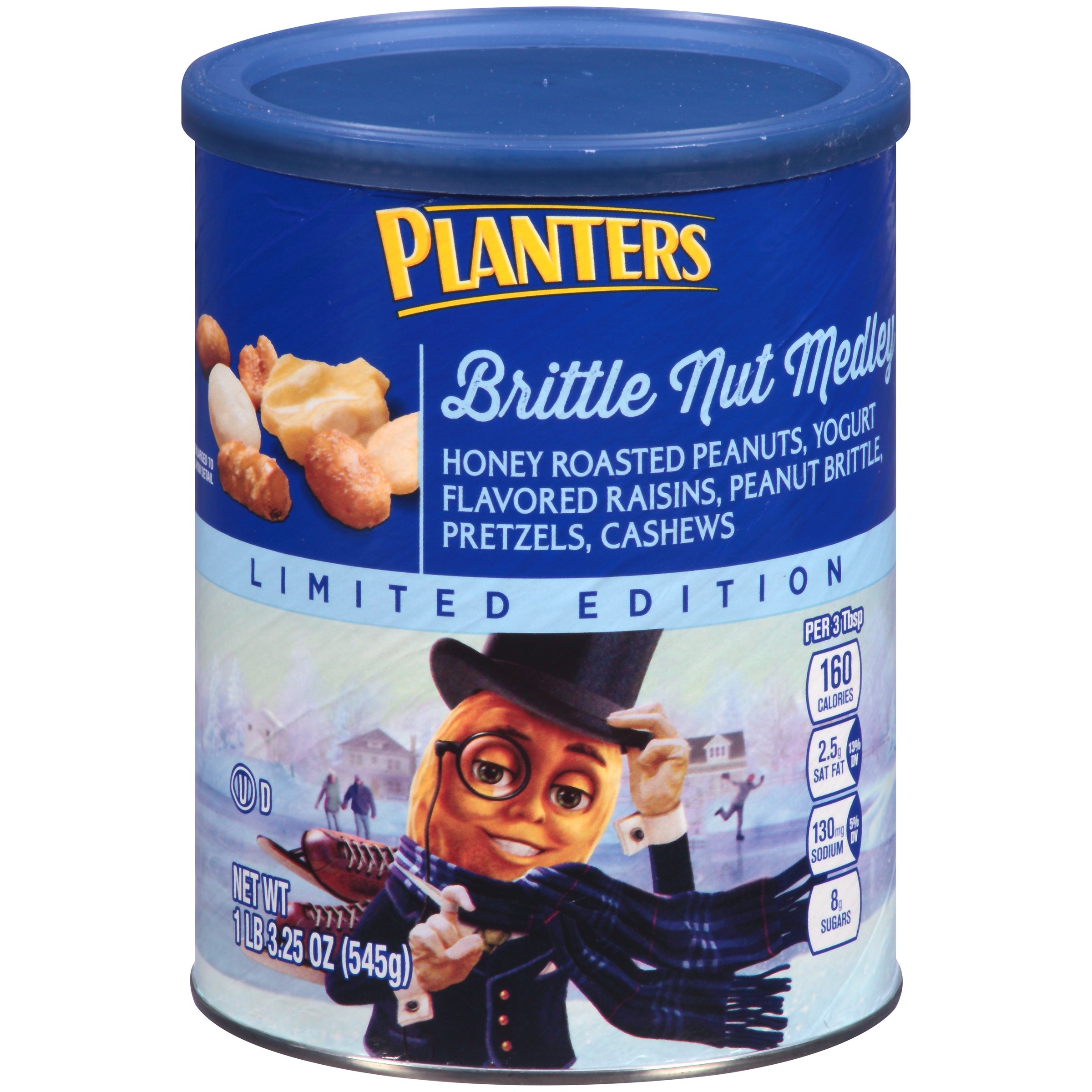 Planters Brittle Nut Medley, 19.25 Ounce