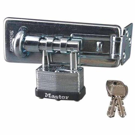 Master Lock 450D Warded Hasp Lock