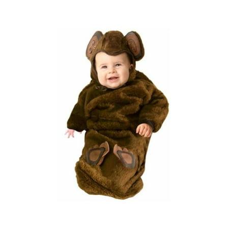 Baby Fur Bunting Monkey Costume