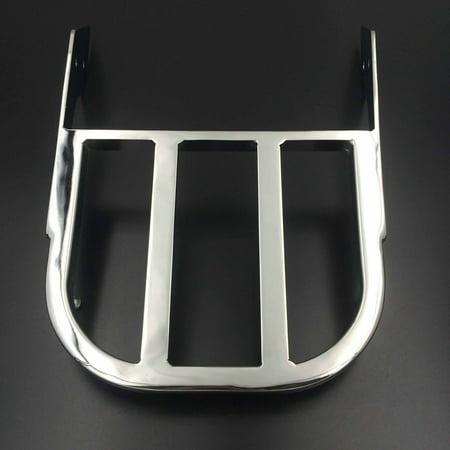 Honda Vtx Sissy Bar (HTT-MOTOR Motorcycle Chrome Sissy Bar Luggage Rack For 2002-2006 Honda VTX 1300C /2002-2011 Honda VTX 1800C /2005-2011 Honda VTX)