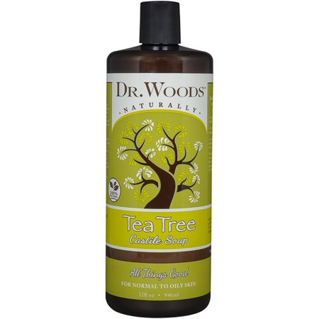 Dr. Woods Pure Castile Soap, Tea Tree 32 oz