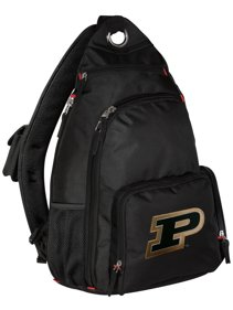 fdc28a9a606 Purdue University Backpack Single Strap Purdue Sling Backpack
