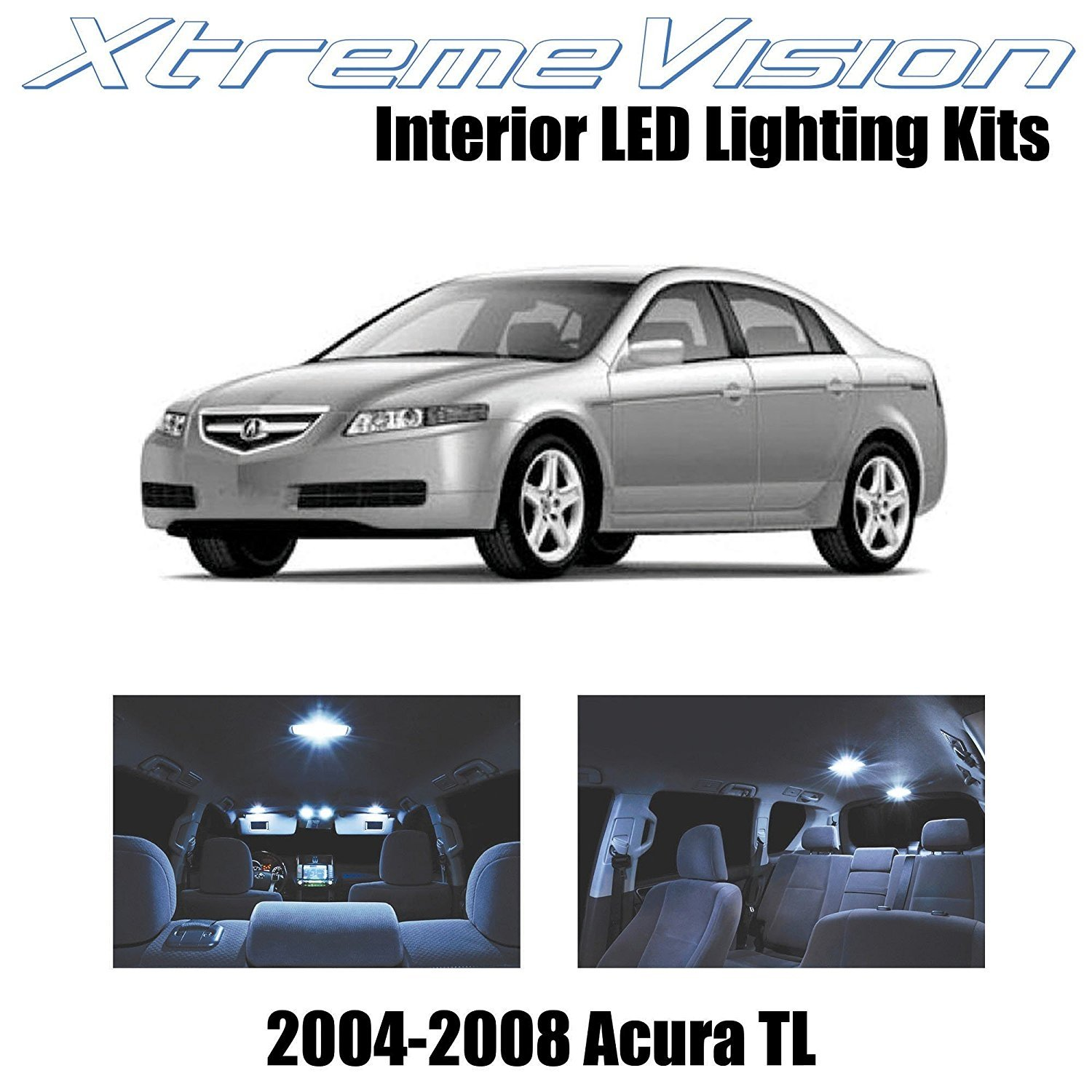 XtremeVision LED For Acura TL 2004-2008 (14 Pieces) Cool