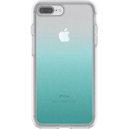 wholesale dealer 5fc60 93f3d OtterBox Symmetry Series Clear Graphics Case for iPhone 8 Plus and iPhone 7  Plus, Aloha Ombre