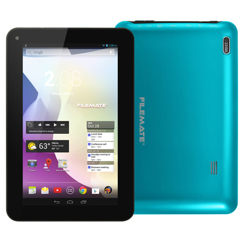 "Refurbished FileMate Clear X2 - 3FMT730BL-16G-R - 7"" Tablet 16GB Memory Dual Core - Blue"