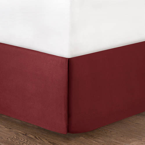 Mainstays Solid Bedskirt, Multiple Colors by