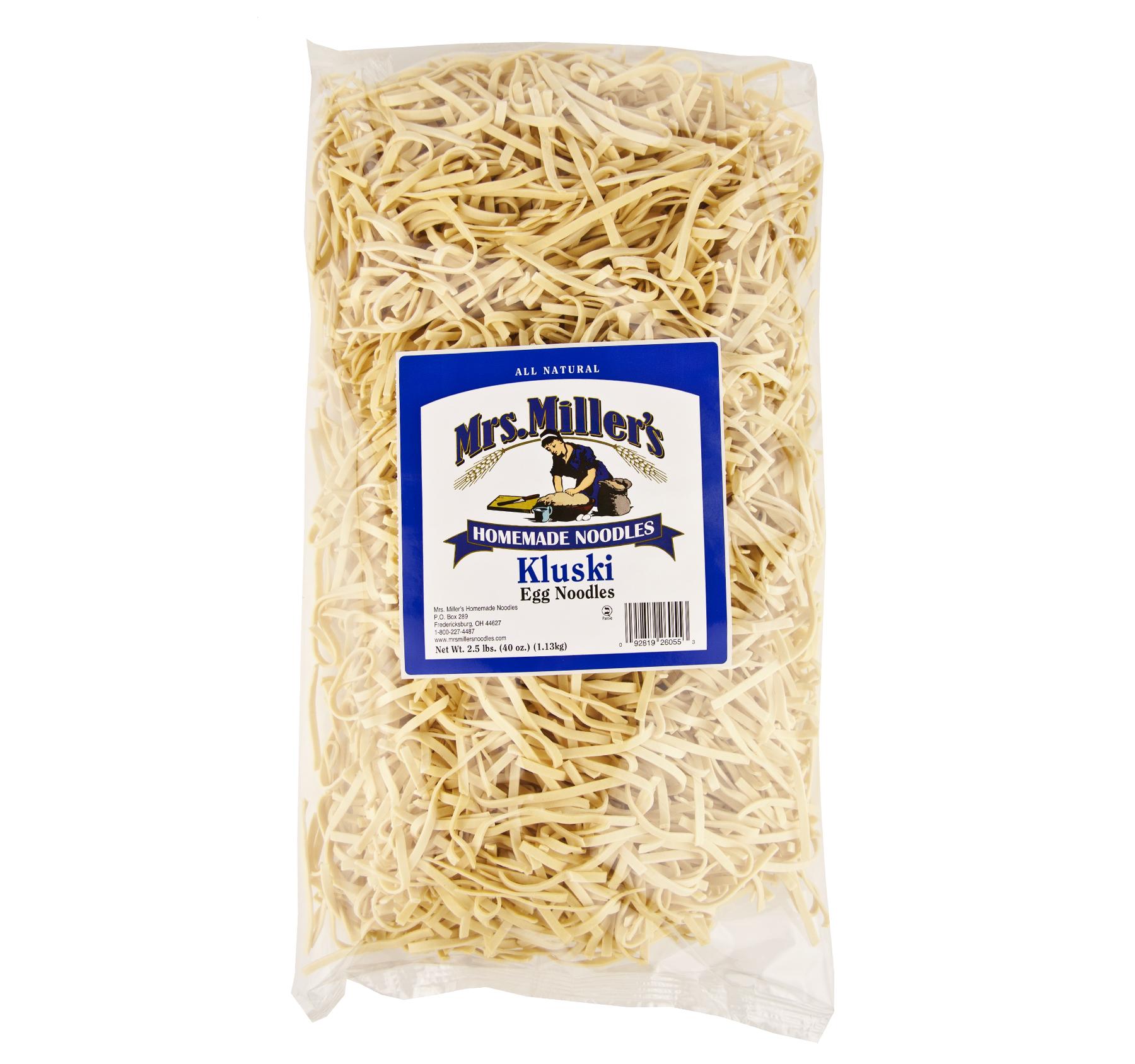 Mrs. Miller's Old Fashioned Homestyle Kluski Noodles Larg...