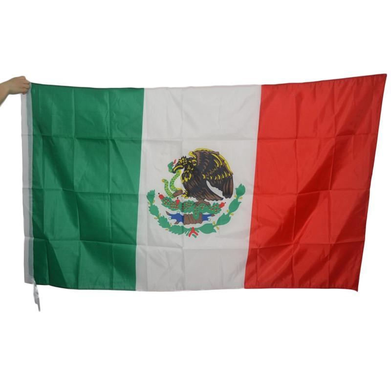 3x5 Foot Large Mexican Flag Polyester Mexico