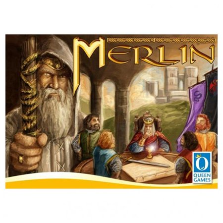 Merlin Board Game 4 Player Deep Strategy Mystic World Queen Games 20031 ()