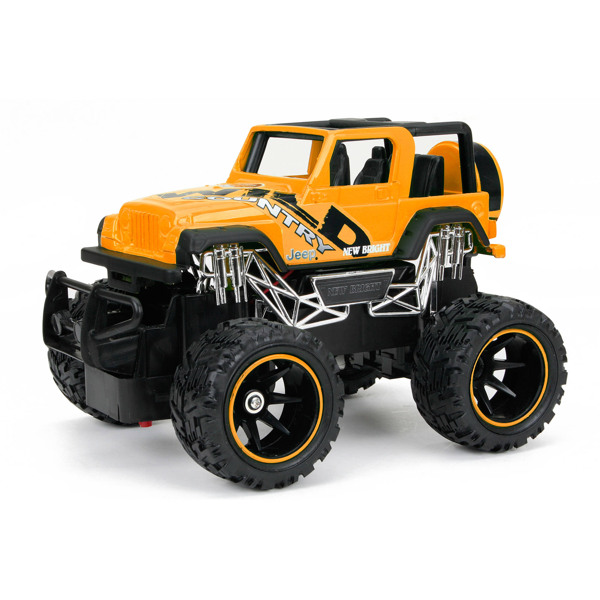 1:24 R/C Jeep Wrangler, Yellow