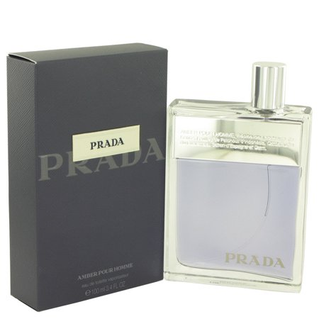 Prada Triangle - Prada Prada Amber Eau De Toilette Spray for Men 3.4 oz