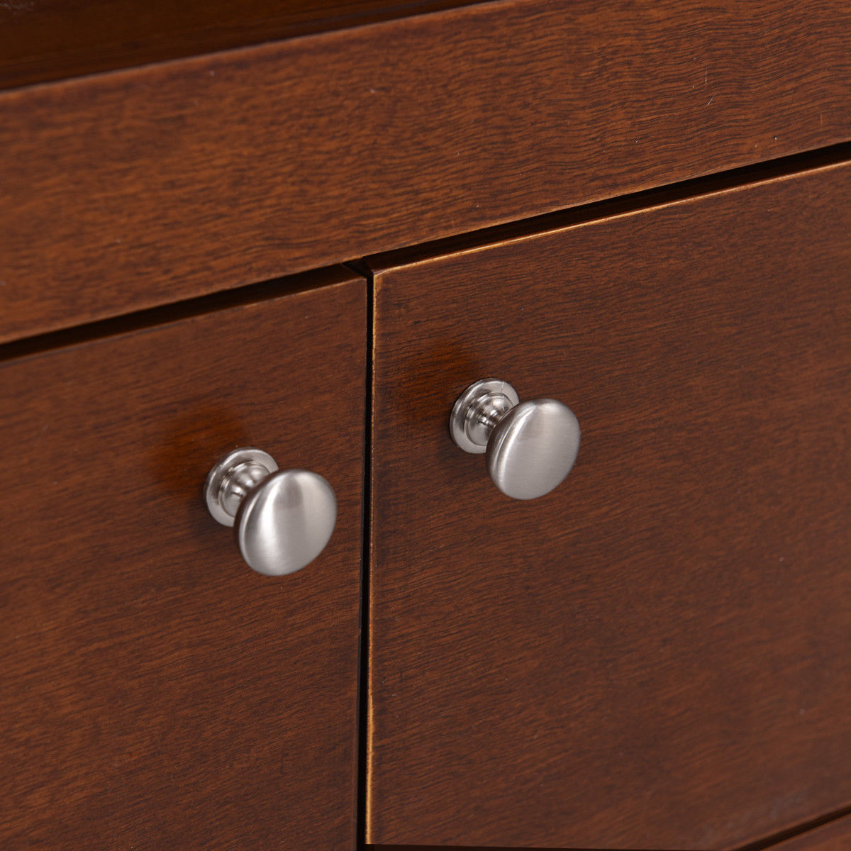 "44"" TV Stand Console Wooden Storage Cabinet Shelf Media Center Stand - image 1 de 9"