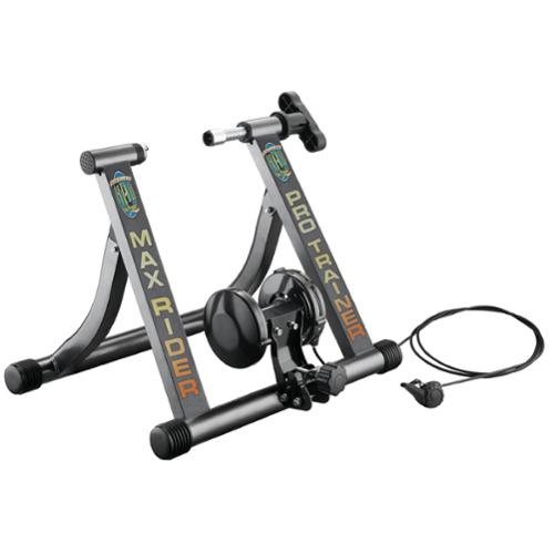 RAD Cycle Products MAX RIDER PRO Italian Bike Trainer with Remote Shifter For Professional Work Out Indoors!