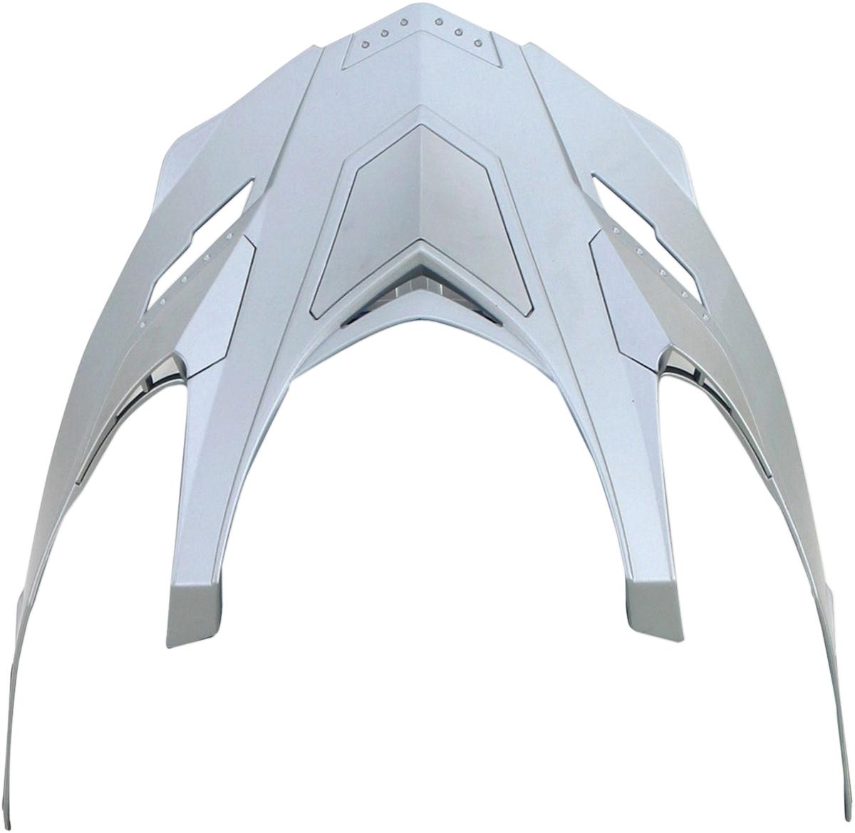 AFX Peak for FX-55 Helmet Silver   0132-0786