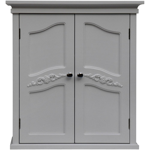 Elegant Home Fashions Somerset Wall Cabinet, White