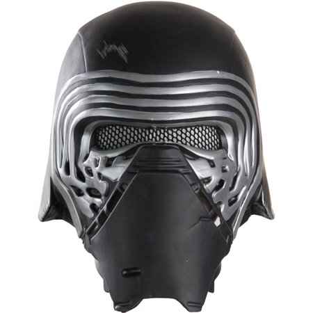 Kylo Ren 1/2 Mask Adult Halloween Accessory - Halloween Half N Half Makeup