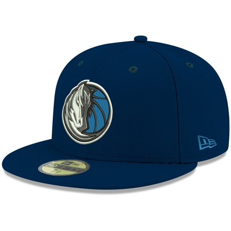 Dallas Mavericks New Era Official Team Color 59FIFTY Fitted Hat - Navy
