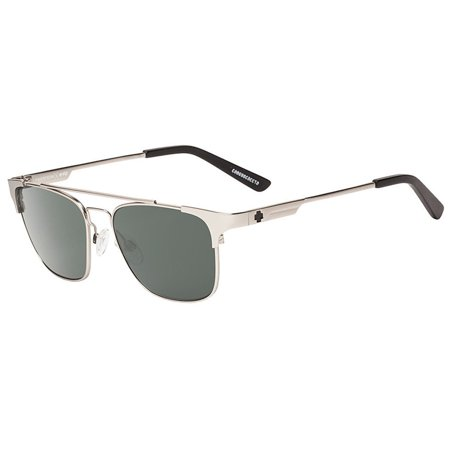 New Spy Sptics Westport 673363869863 Matte Silver / Happy Gray Green Sunglass