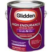 Glidden High Endurance Grab-N-Go Interior Eggshell/Satin, Red Delicious, 1 Gallon