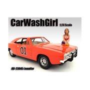 Car Wash Girl Jennifer Figure For 1:24 Scale Models by American Diorama