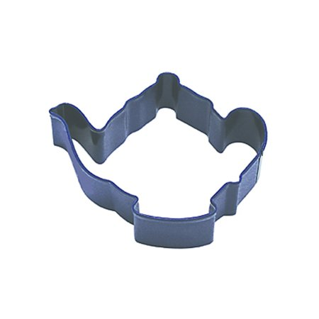 Teapot Cookie Cutter, 3.75-Inch, Navy Blue, High quality, steel cookie cutters in over 1000 designs By Dress My Cupcake](Toss My Cookies)