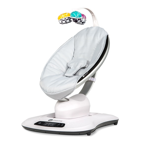 4moms mamaRoo4 Baby Swing, Classic Grey (Best Medication For Pms Mood Swings)