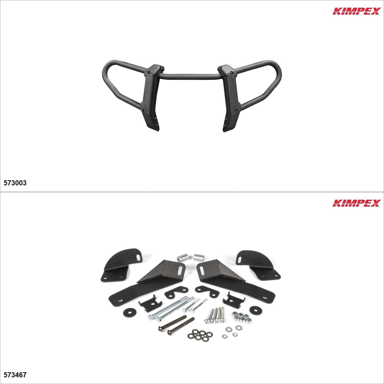 Kimpex Gen 2.1 Front Bumper Kit, Polaris Sportsman SP 850 2017-18 Black  #KK00002053_2