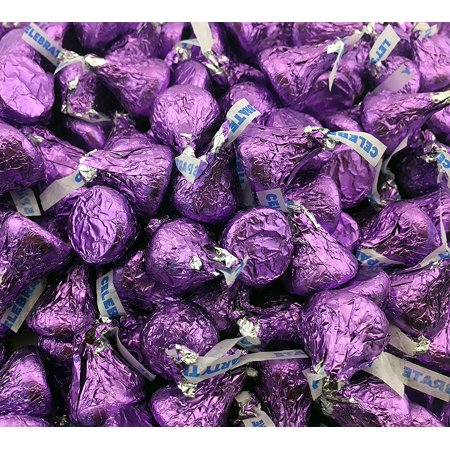 Hershey Park In Halloween (Hershey's Kisses, Milk Chocolate in Purple Foil (Pack of 2 Pound)– Easter)