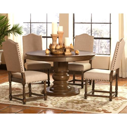 A Line Furniture Dankona French Antique 5-piece Round Din...