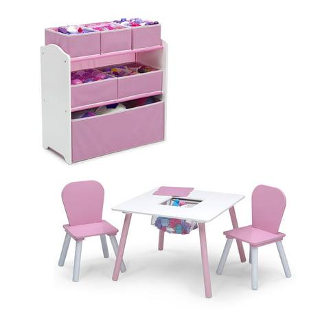 Delta Children 4-Piece Toddler Playroom Set,
