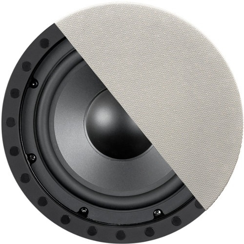 """OEM SYSTEMS SE-80SWF 8"""" In-Ceiling/In-Wall Frameless Subwoofer"""