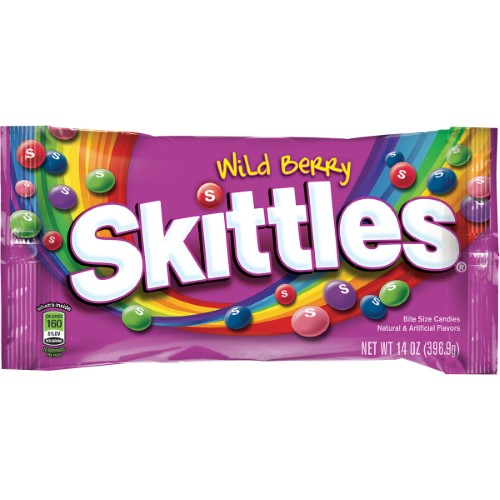 Wild Berry Bite Size Candies (Pack of 16)