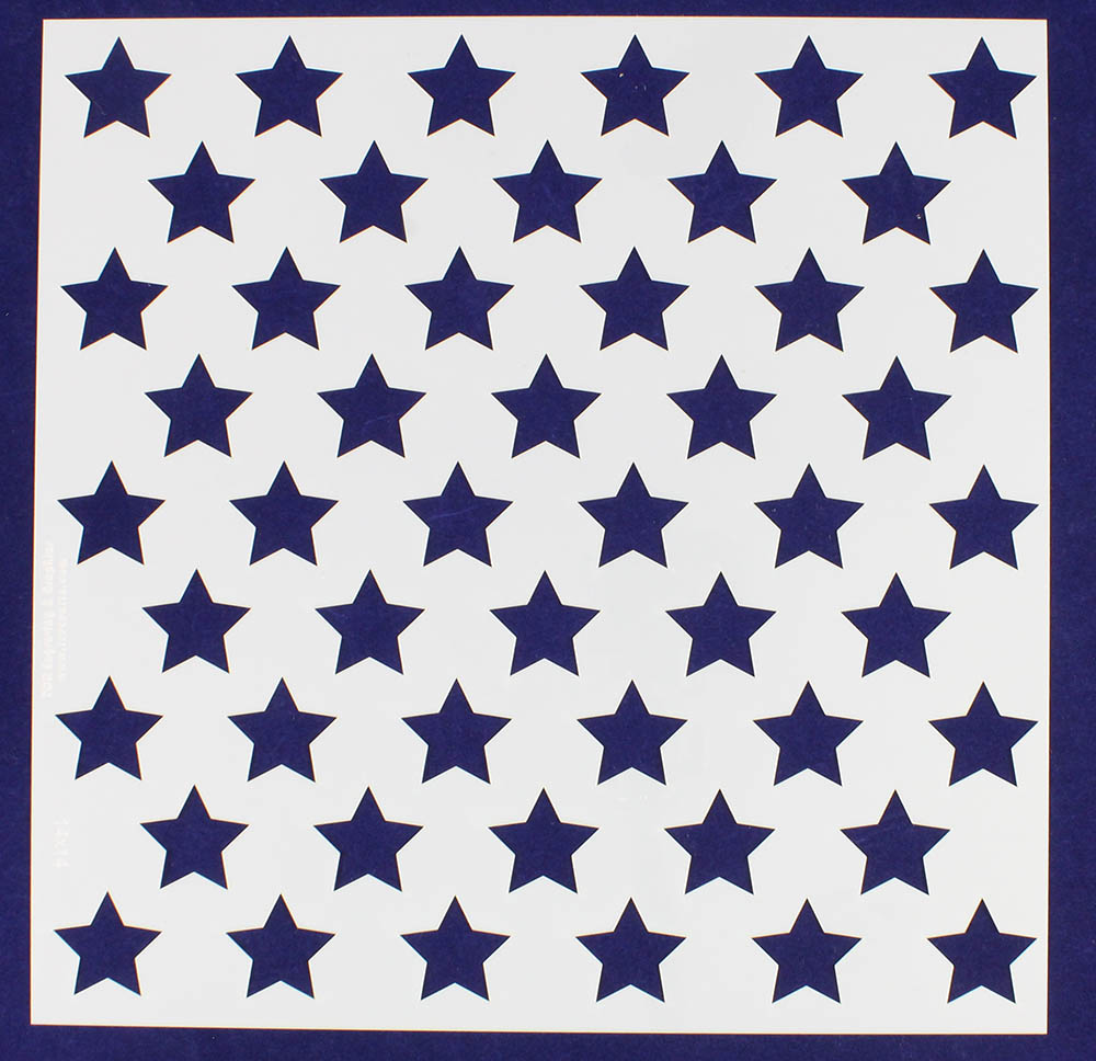 graphic relating to 50 Star Stencil Printable named American Flag Star Stencil - Concerning Flag Collections