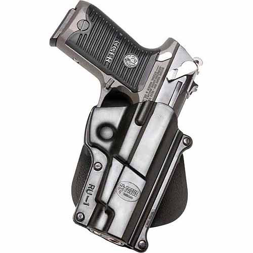 Fobus Standard Holster for Ruger P85P, 89 Lg. Auto 9mm, .40 Cal.