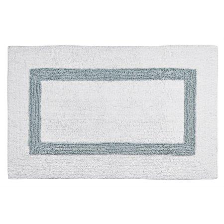 Hotel 100 percent cotton bath rug for Bathroom 94 percent