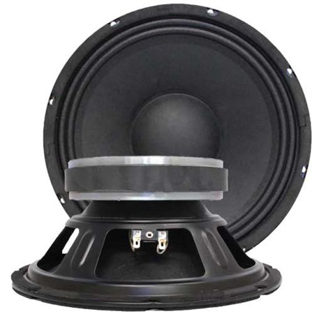 "Seismic Audio - Pair of 10"" Bass Guitar Raw WOOFERS Speaker Driver Replacements - Jolt-10Pair"