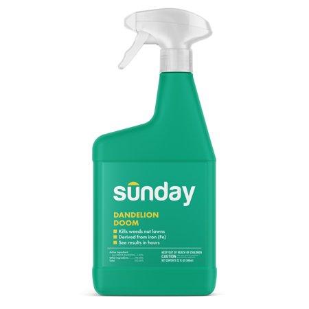 Dandelion Doom - Sunday Spot Weed Control (32oz Bottle)