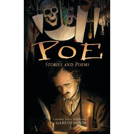 Poe: Stories and Poems : A Graphic Novel Adaptation by Gareth Hinds - Adult Poems