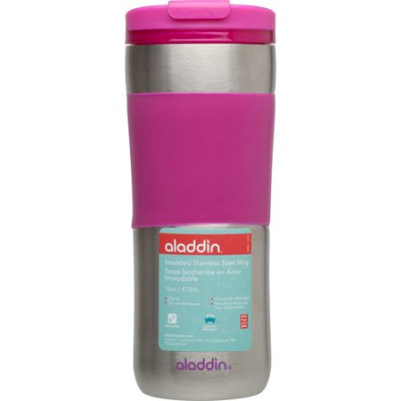 16oz Insulated Steel Stainless Aladdin Mug Travel ZluOPkXwiT