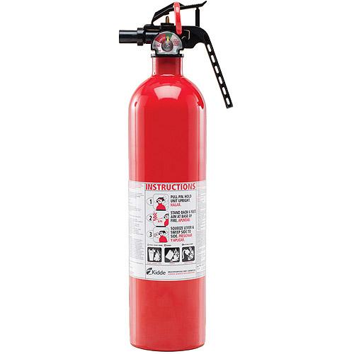 kidde pro 210 fire extinguisher 4lb 2 a 10 b c walmart com
