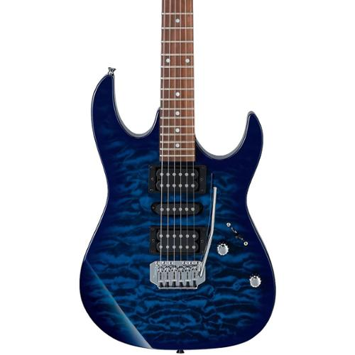 Ibanez GRX70QA Electric Guitar Transparent Blue Burst