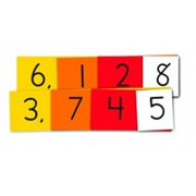 Essential Learning Products 550295 Place Value 4-Digit Strips Student Size Small Group Set Grades 1-3