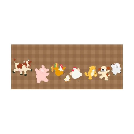Farm Critters Set Print Wall Art By Coline