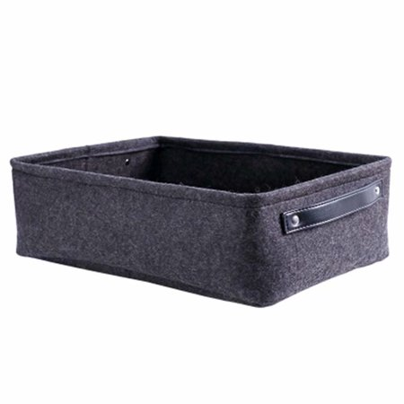 Felt Storage Baskets Containers Bags for Living Room Coffee Table Storage Box Clothes Felt Storage Hamper