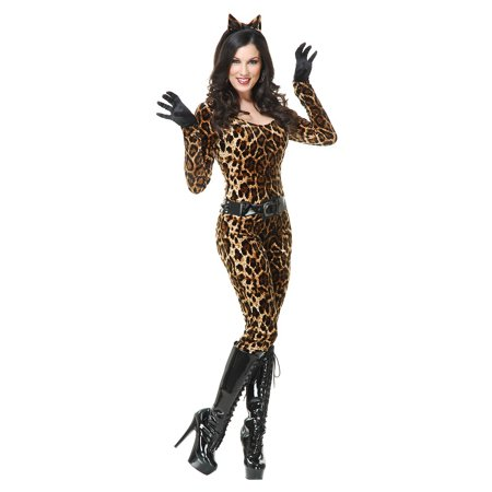 Animal catsuit Adult Costume Leopard - X-Large - Pretty Leopard Child Costume