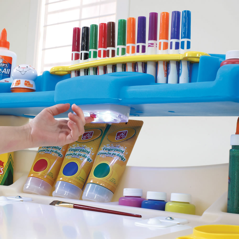Step2 Deluxe Art Master Desk Kids Art Table With Storage And Desk