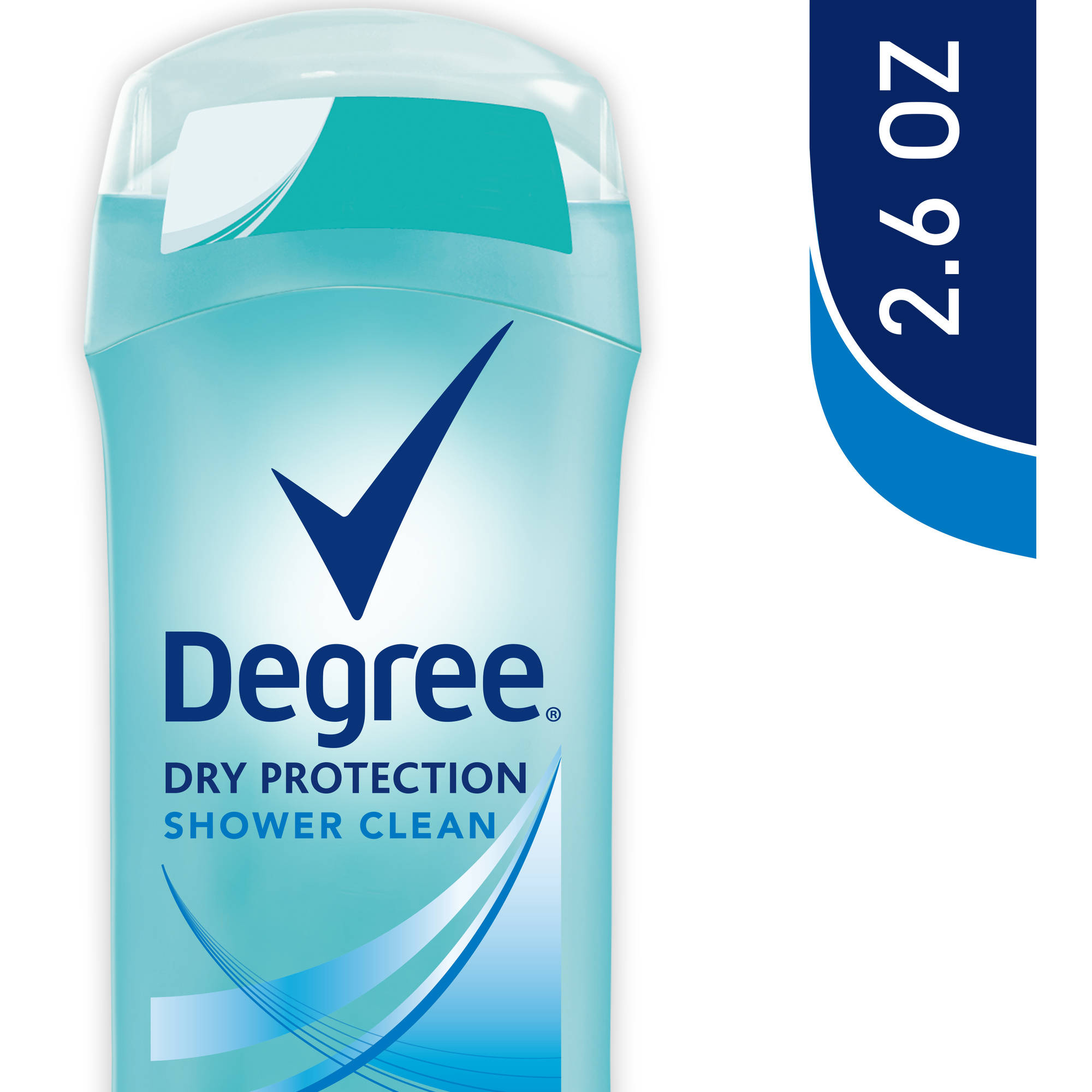 Degree Dry Protection Shower Clean Antiperspirant Deodorant, 2.6 oz