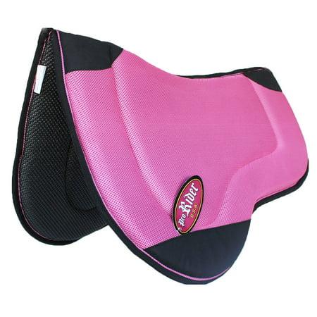 Horse  English Treeless Endurance Memory Foam Neoprene Saddle Pad (Best English Saddle Brands)